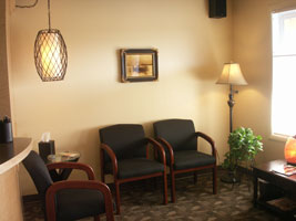 Dr. Terry Franks Clinic Waiting Room